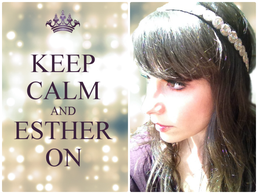 Keep Calm and Esther On _ Joyish_Let queen reign_ Lara Dvora_ Berman_Purim